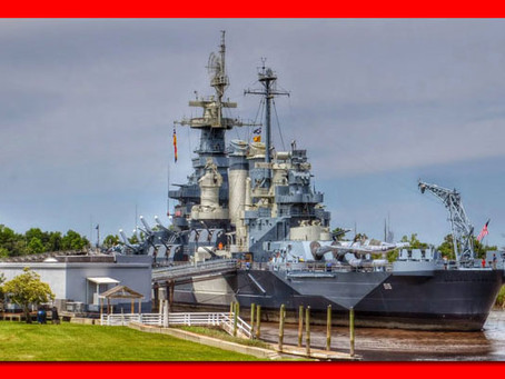 We're Going to Be at Sailor Saturday at the Battleship NC