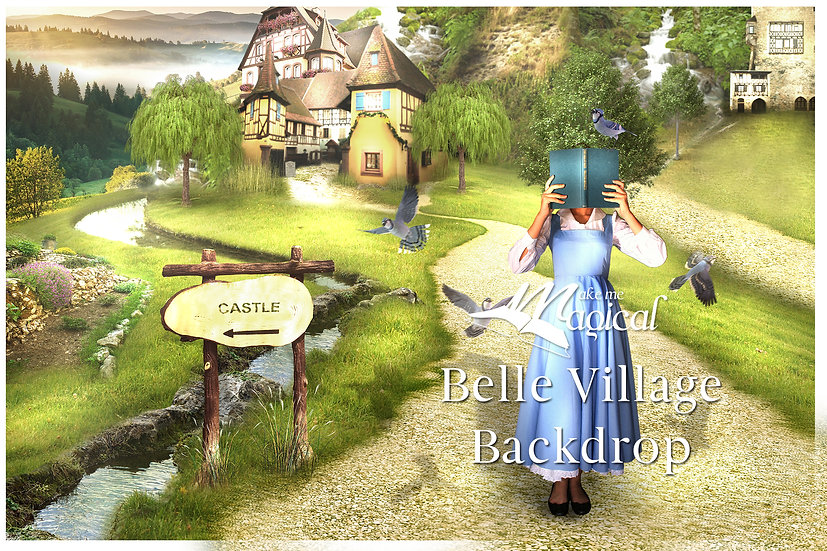 Beauty and the Beast - Belle reading pack