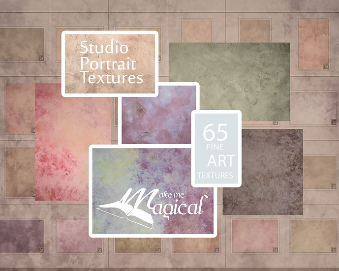 65 x hand painted fine art photo textures for studio portraits by makememagical