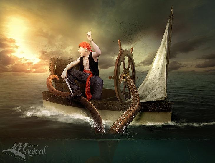 5 x Fantasy Ocean Pack   Digital Backdrop   Digital Background   Photo Backdrop