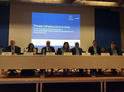A WEF-ADB session in Baku, Azerbaijan (May, 2015)