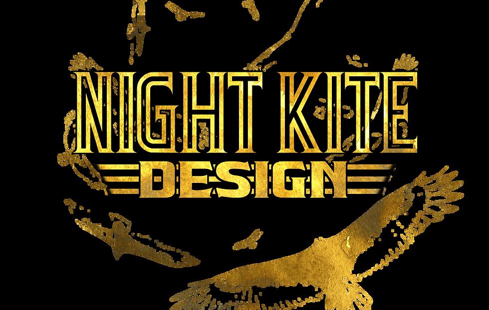 Night Kite Design - Circling Vultures Logo