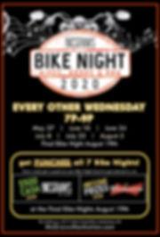 RC Mcgraws Bike Night Flyer 2020