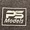 "Thumbnail: T-shirt ""PS-models"""