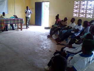 CFUH Two Days Orientation Training for Buchannan Cell