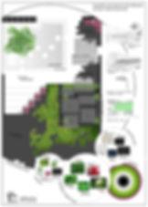 Landscape architecture. Garden design. diseño de jardines. Conica studio. Urban Garden. jardín urbano.