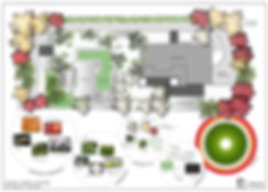 Landscape architecture. Garden design. diseño de jardines. Conica studio. Japanese garden.jardín japonés