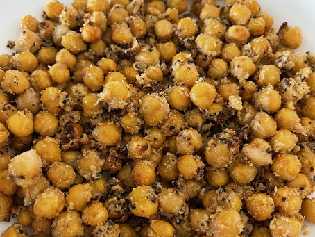 Crispy Air Fried Chickpeas