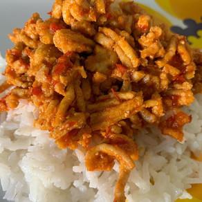 Spicy & Sweet Harissa Coconut Chicken
