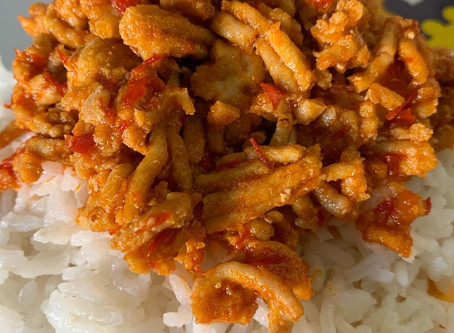 Spicy & Sweet Harissa Coconut Chicken