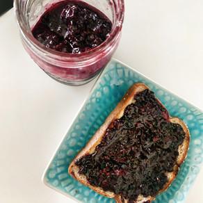 Homemade Blueberry Lemon Jam