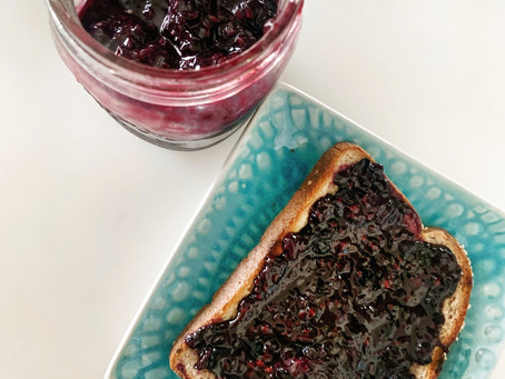 Homemade Blueberry Lemon Jam