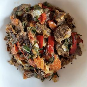 Thai Style Beef Stir Fry (Macro Friendly)