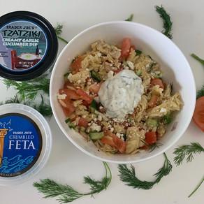 Greek Orzo Salad Bowl