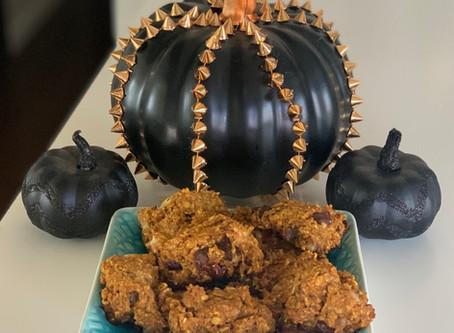 Pumpkin Spice Oat Cookies