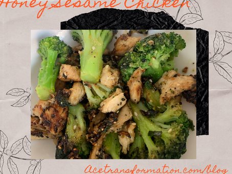 Quick, Easy & Healthy Honey Sesame Chicken