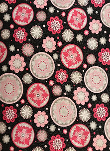 Fabric Black and Pink Medallions.jpg