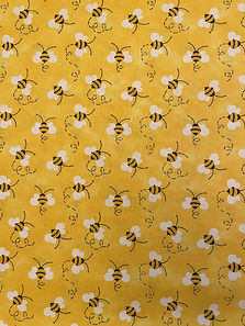 Fabric Bees on Yellow.jpg