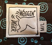 Waggin Wear tag and size