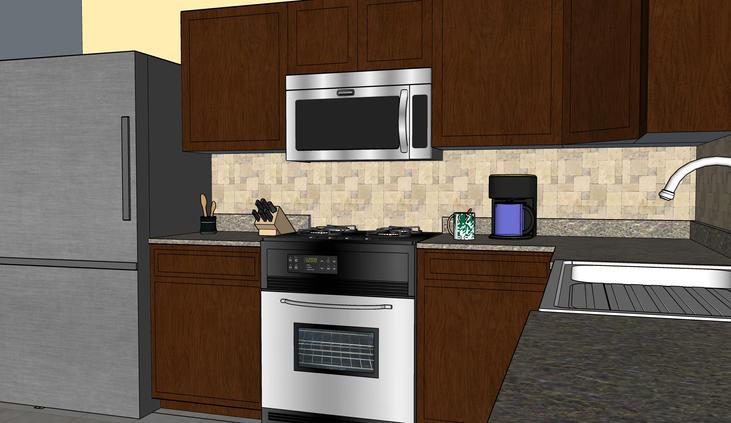 Kitchen Remod View B