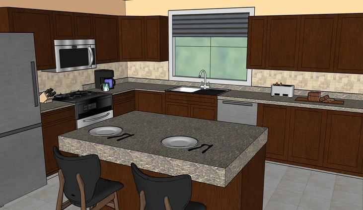 Kitchen Remod View A