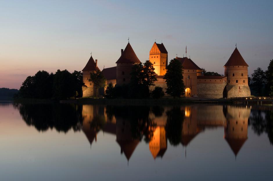 Vermutlich das meistfotografierte Motiv Litauens: Das Wasserschloss Trakai