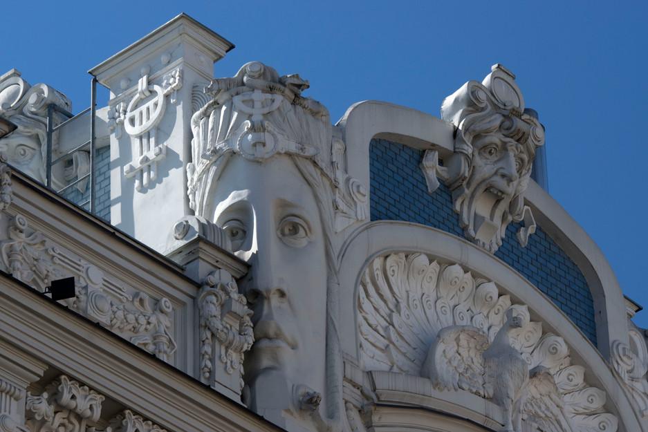 Atemberaubender Jugenstil in Lattlands Hauptstadt Riga