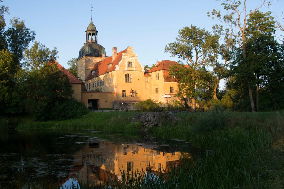 Kleinod: Schloss Lielstraupe in Lettland