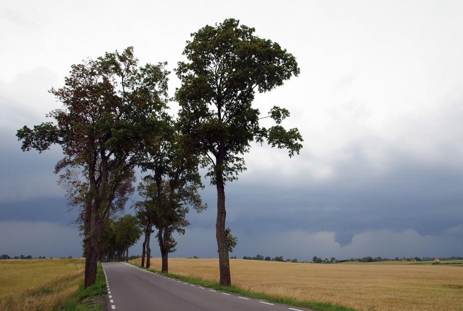 Ein Gewitter naht oft in Masuren. Meist geht es so schnell vorbei wie es gekommen ist