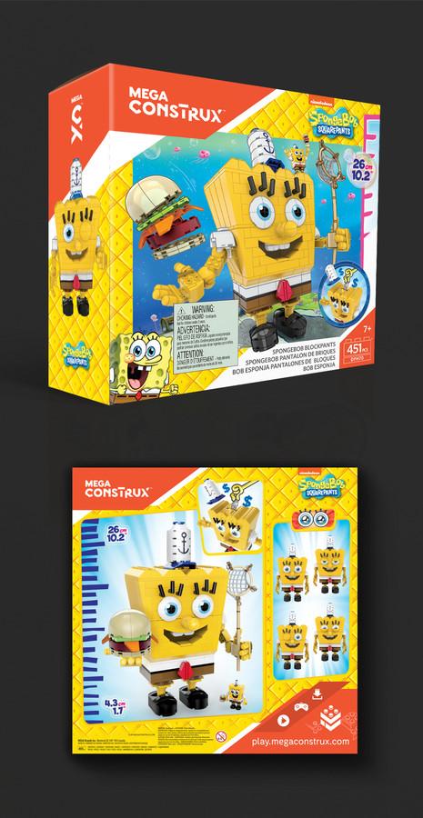 SpongeBob Block Pants Mega Construx