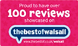 Best of Walsall 100 reviews logo
