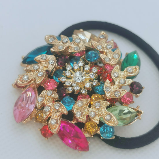 Jewelled hair tie