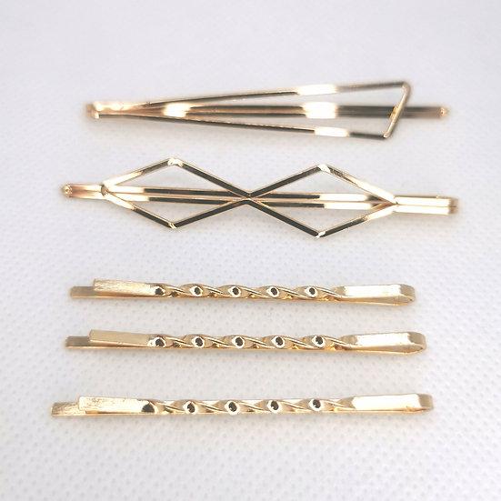 Golden style set