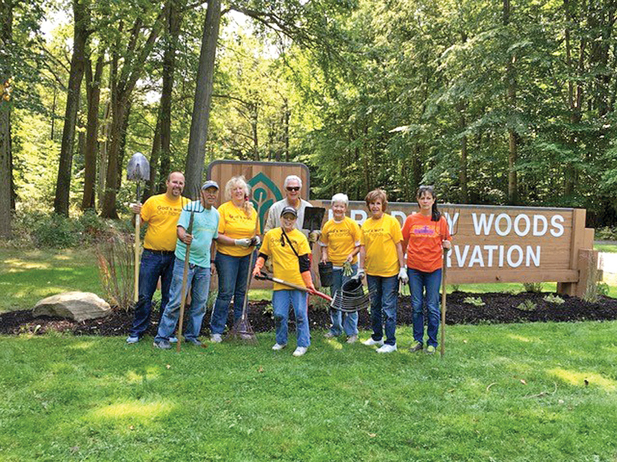 GWOH work at Metroparks
