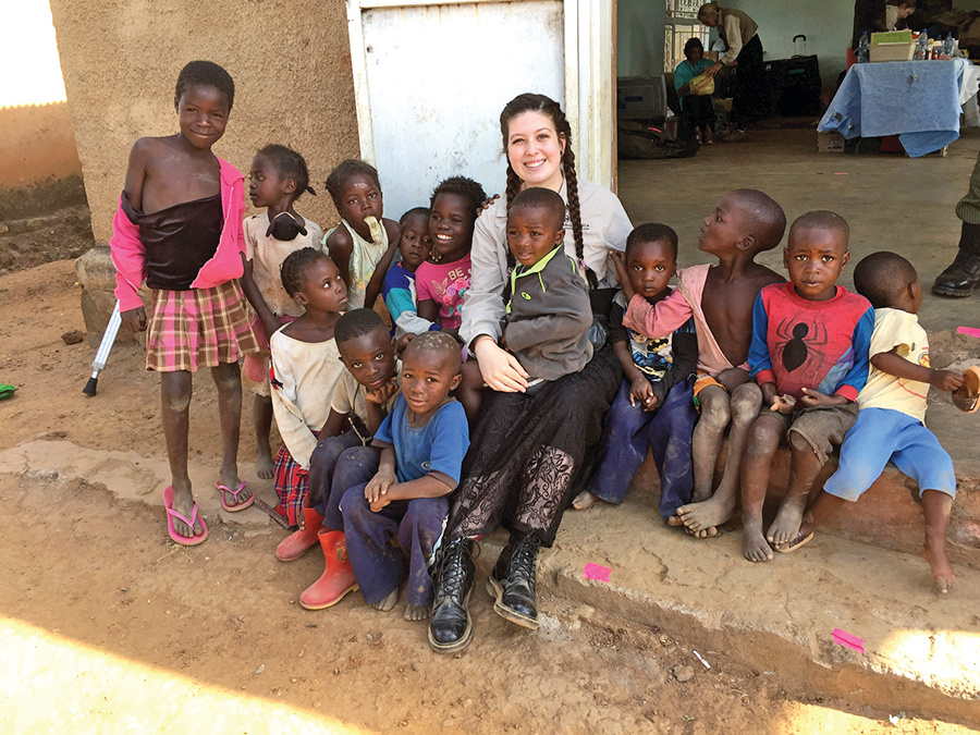 The children of Zambia