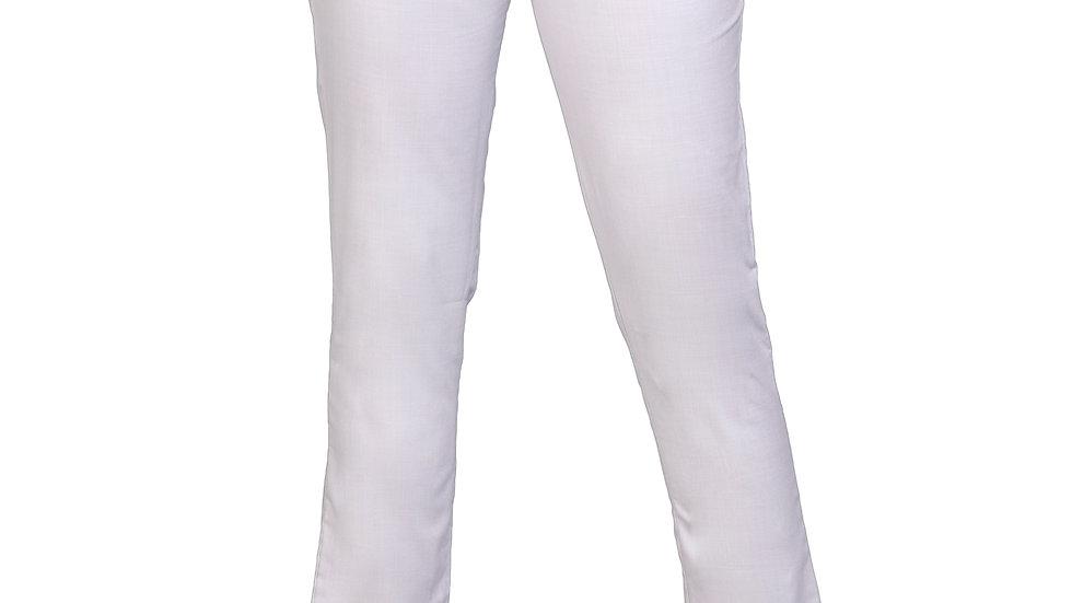 UNFAKENOW  Slim Fit Women Grey Cotton Blend Trousers