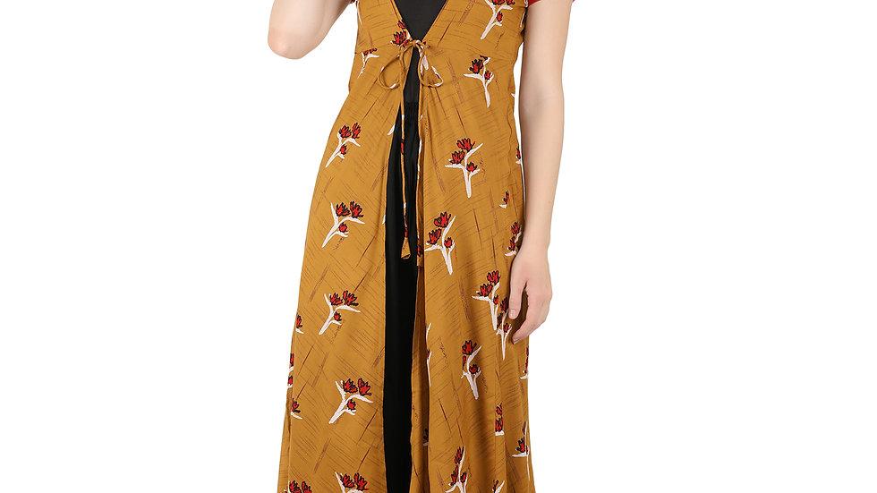UNFAKENOW Women Kimono Style Short Sleeve Shrug