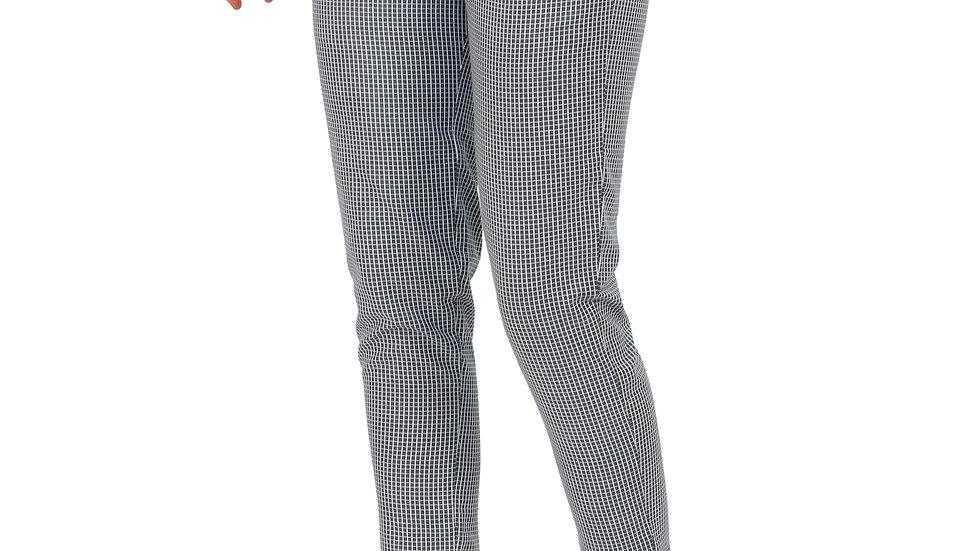 UNFAKENOW  Slim Fit Women Grey Polycotton Trousers