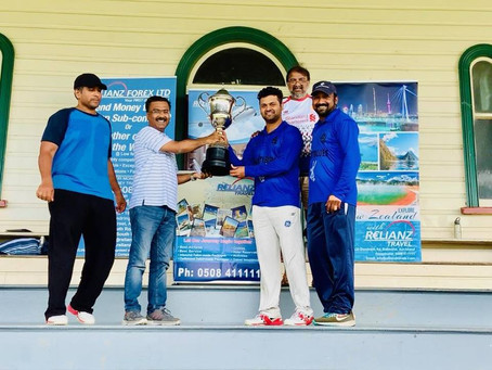 Mighty Blues Winning Relianz Forex 'Spirit of Cricket Tournament'!