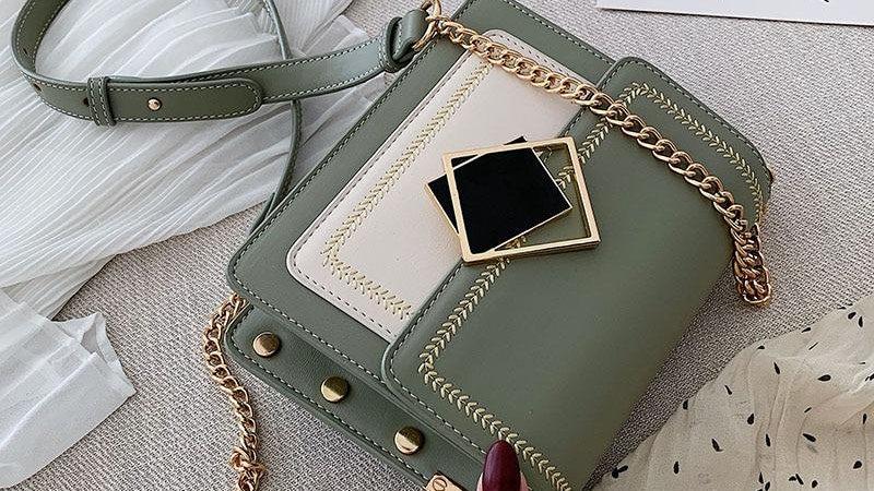 Special Lock Design Handbag
