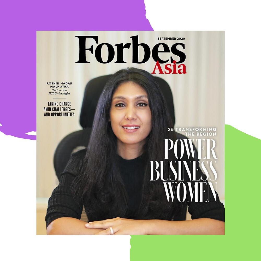 Roshni Nadar, HCL Technologies, Forbes