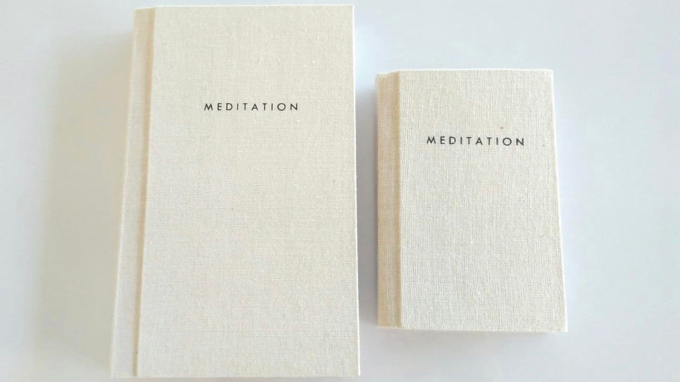 Recycled Meditation Journal (SMALL)
