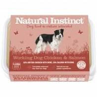 Working Dog Natural Instinct Chicken & Salmon Raw Dog Food