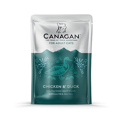 Canagan Chicken and Duck Cat Pouches x 8
