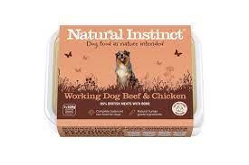 Working Dog Natural Instinct Beef & Chicken Raw Dog Food