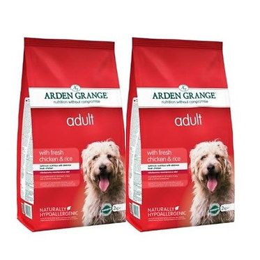 Arden Grange Adult Chicken and Rice Dry Dog Food 12kg