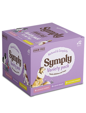 Symply Wet Variety Pack GrainFree 395g x 12
