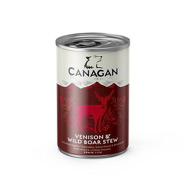 Canagan Venison & Wild Boar Dog Food Cans x 6