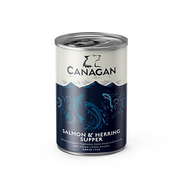 Canagan Salmon and Herring Dog Food Cans x 6