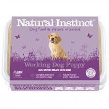 Working Dog Natural Instinct Puppy Raw Dog Food